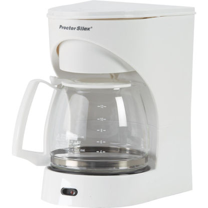 Picture of Proctor-Silex 12 Cup White Coffee Maker