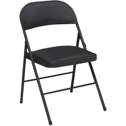 Picture of COSCO Fabric Folding Chair, Black