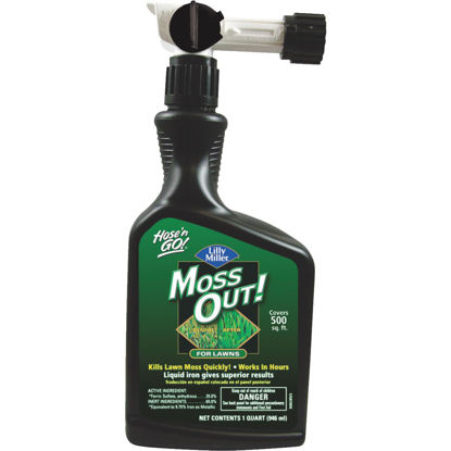 Picture of Lilly Miller MOSS OUT! 1 Qt. Ready To Spray Moss & Algae Killer