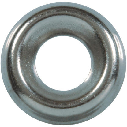 Picture of Hillman #8 Steel Nickel Plated Finishing Washer (10 Ct.)