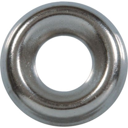 Picture of Hillman #6 Steel Nickel Plated Finishing Washer (10 Ct.)