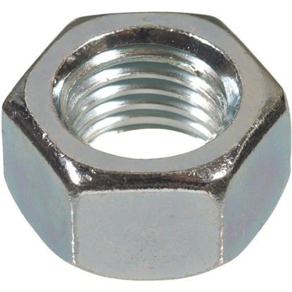Picture of Hillman 1 In. 8 tpi Grade 2 Zinc Hex Nuts (10 Ct.)