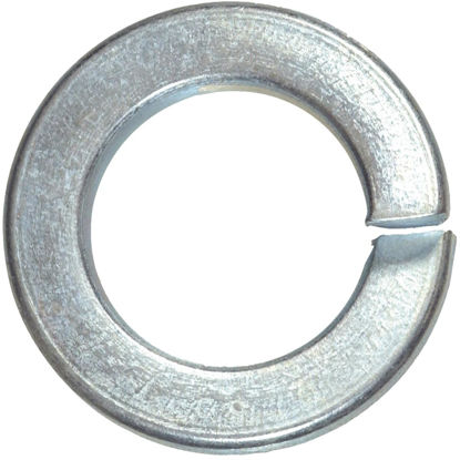 Picture of Hillman #8 Hardened Steel Zinc Plated Split Lock Washer (100 Ct.)