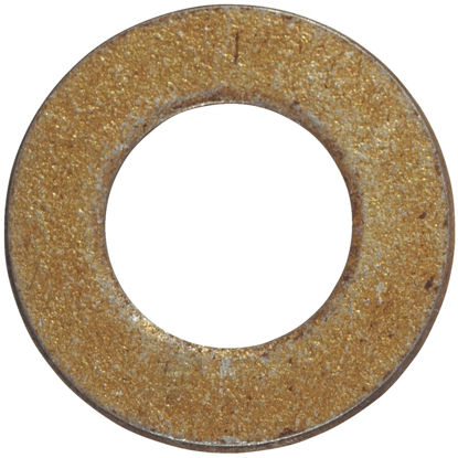 Picture of Hillman 1 In. SAE Hardened Steel Yellow Dichromate Flat Washer (10 Ct.)