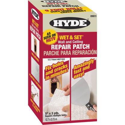 Picture of Hyde Wet & Set 5 In. x 9 Ft. Wall & Ceiling Drywall Patch