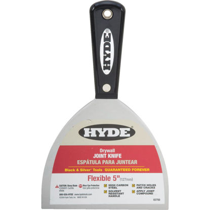 Picture of Hyde Black & Silver Professional 5 In. Flexible Joint Knife