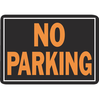 Picture of Hy-Ko Aluminum Sign, No Parking