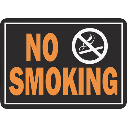 Picture of Hy-Ko Aluminum Sign, No Smoking