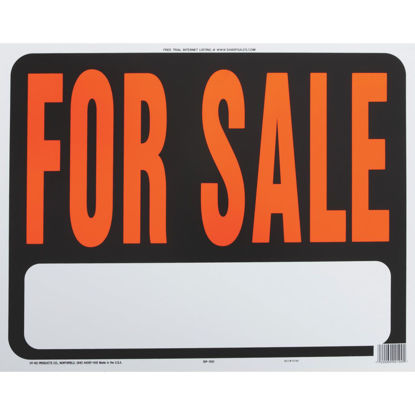 Picture of Hy-Ko Heaby Gauge Plastic Sign, For Sale