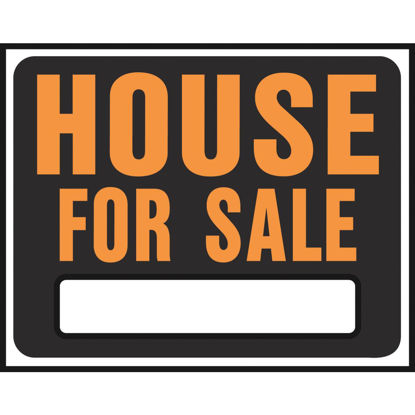 Picture of Hy-Ko Heavy Gauge Plastic Sign, House For Sale