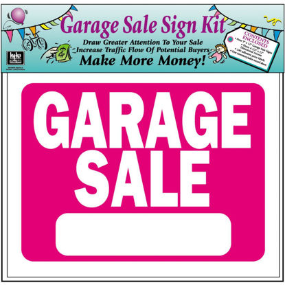 Picture of Hy-Ko Sign, Garage Sale Kit