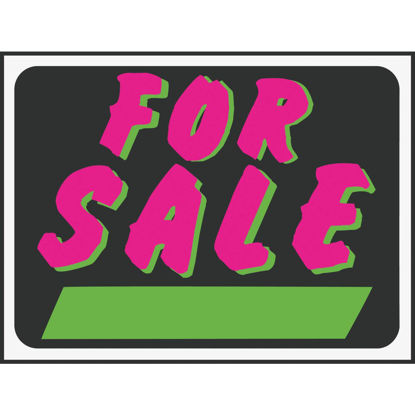 Picture of Hy-Ko Plastic Sign, For Sale