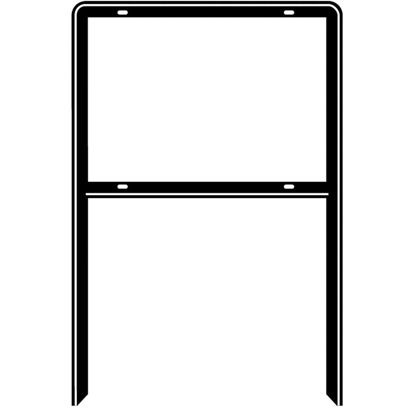 Picture of Hy-Ko  Steel Heavy Duty Open Sign Frame