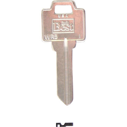 Picture of Do it Best Weiser Nickel Plated House Key, WR5 (250-Pack)