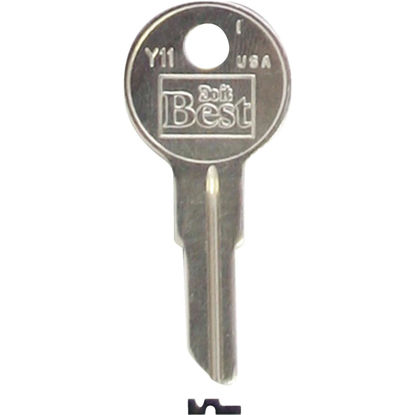 Picture of Do it Best Yale Nickel Plated House Key, Y11 (10-Pack)
