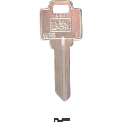 Picture of Do it Best Weiser Nickel Plated House Key, WR5 (10-Pack)