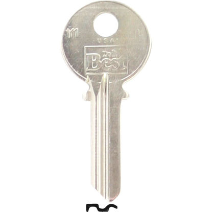 Picture of Do it Best Yale Nickel Plated House Key, Y1 (250-Pack)