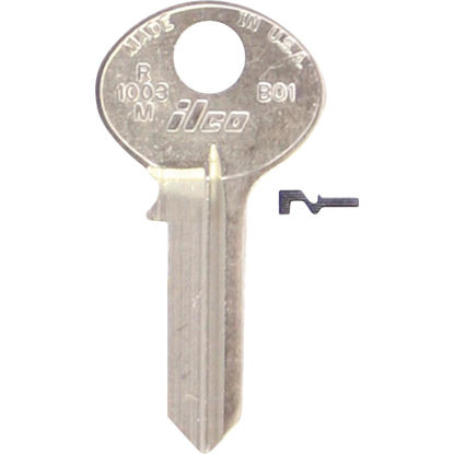 Picture of Bilco Bommer Nickel Plated Mailbox Key, (10-Pack)