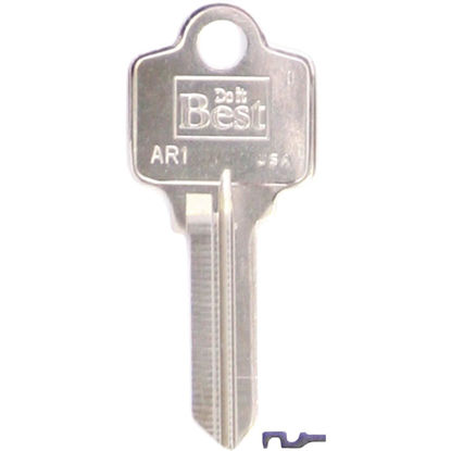Picture of Do it Best ARROW Nickel Plated House Key, AR1- (10-Pack)