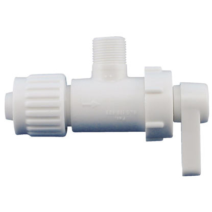 Picture of Flair-it 1/2 In. PEX x 3/8 In. C 1/4 Turn Angle Valve