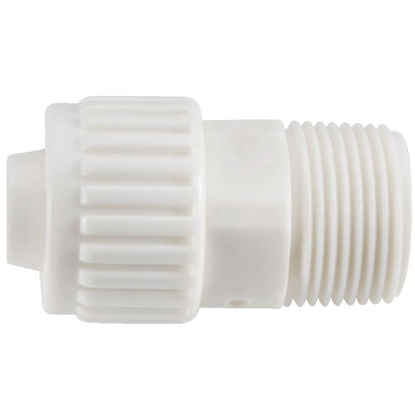 Picture of Flair-It 1/2 In. x 1/2 In. Poly Alloy Male Pipe Thread Adapter