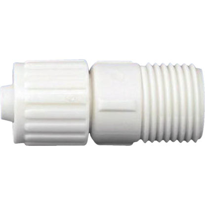 Picture of Flair-It 3/8 In. x 1/2 In. Poly Alloy Male Pipe Thread Adapter