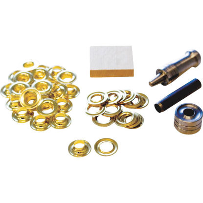 Picture of Lord & Hodge 3/8 In. Brass Grommet Kit