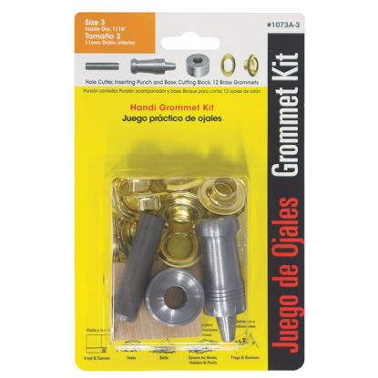 Picture of Lord & Hodge 7/16 In. Brass Grommet Kit