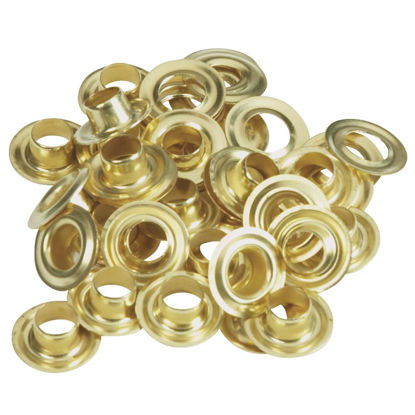 Picture of Lord & Hodge 1/4 In. Brass Grommet Refills (24 Ct.)