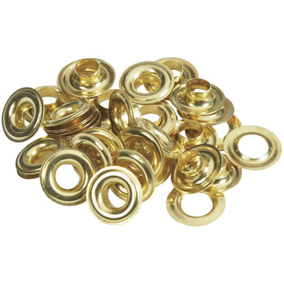 Picture of Lord & Hodge 5/16 In. Brass Grommet Refills (24 Ct.)