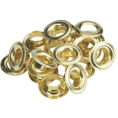 Picture of Lord & Hodge 1/2 In. Brass Grommet Refills (12 Ct.)