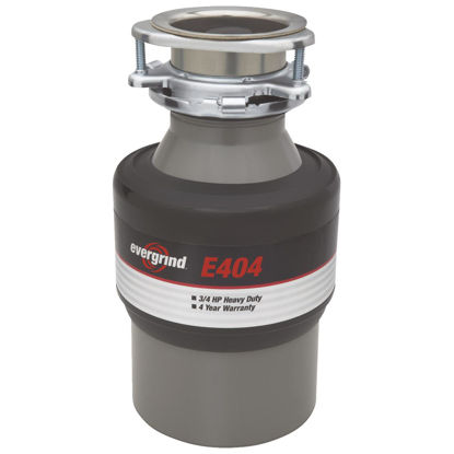 Picture of Evergrind 3/4 HP Garbage Disposal, 4 Year Warranty