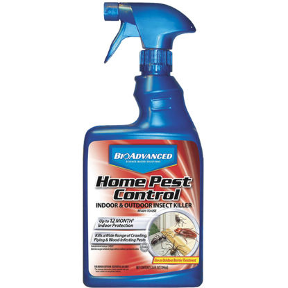 Picture of BioAdvanced Home Pest Control 24 Oz. Ready To Use Trigger Spray Insect Killer