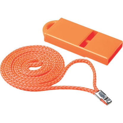 Picture of Seachoice 2 In. W. x 2-1/4 In. L. x 1/4 In. D. Orange Plastic Whistle