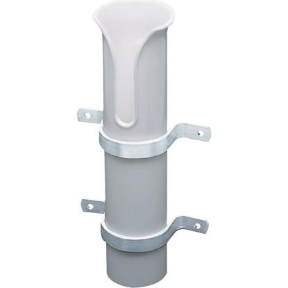 Picture of Seachoice White PVC Tube Side Mount Fishing Rod Holder