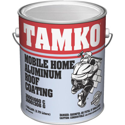 Picture of Tamko 1 Gal. Fibered Aluminum Mobile Home Roof Coating