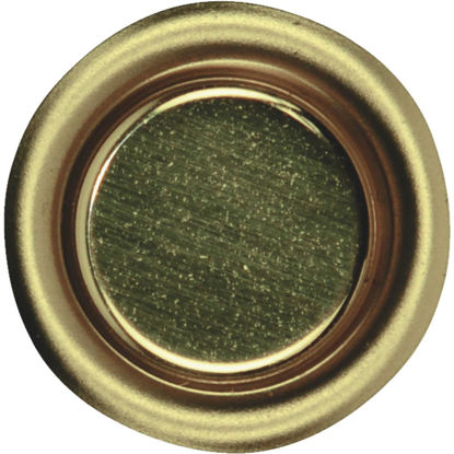 Picture of Johnson Hardware 3/4 In. Dia. Brass Flush Cup Pocket Door Pull (4-Count)