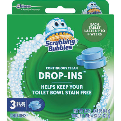 Picture of Scrubbing Bubbles Vanish Continuous Clean Drop-Ins Automatic Toilet Bowl Cleaner (3-Pack)