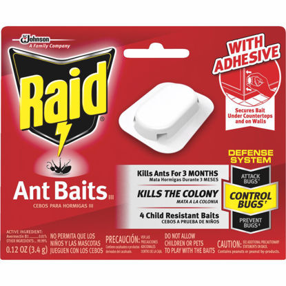 Picture of Raid 0.24 Oz. Solid Ant Bait Station (4-Pack)