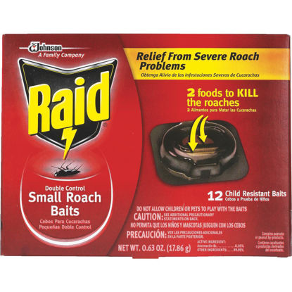 Picture of Raid 0.63 Oz. Solid Roach Bait Station (12-Pack)