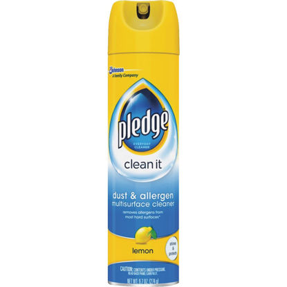 Picture of Pledge 9.7 Oz. Dust & Allergen Multisurface Cleaner