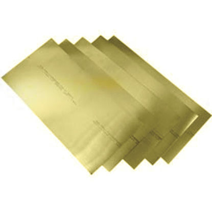 Picture of K&S Brass 3 x 4 In. Brass Shim