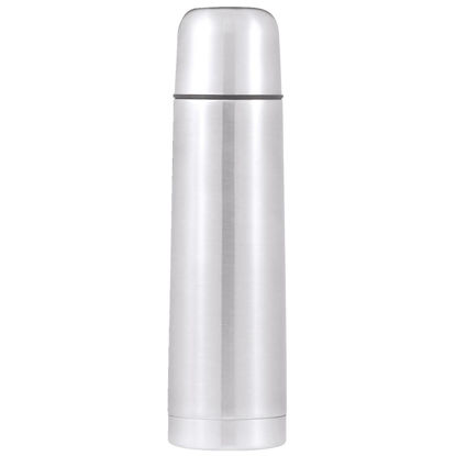 Picture of Thermos Thermocafe 17 Oz Silver Stainless Steel Insulated Vacuum Bottle