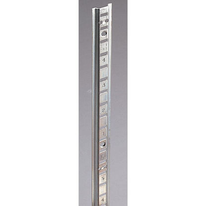 Picture of Knape & Vogt 233 Series 48 In. Zinc-Plated Steel Surface-Mount Pilaster Standard