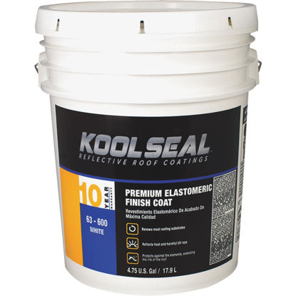 Picture of Kool Seal 5 Gal. Premium 10-Year White Acrylic Elastomeric Roof Coating