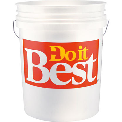 Picture of Do it Best 5 Gal. Pail with Red Logo