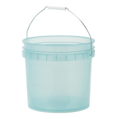 Picture of Leaktite 3.5 Gal. Green Translucent Pail