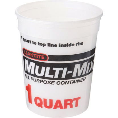 Picture of Leaktite 1 Qt. Multi-Mix All Purpose Mixing And Storage Container
