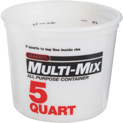 Picture of Leaktite 5 Qt. Multi-Mix All Purpose Mixing And Storage Container