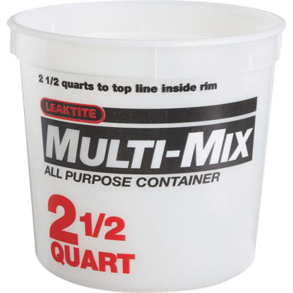 Picture of Leaktite 2-1/2 Qt. Multi-Mix All Purpose Mixing And Storage Container